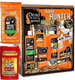 Bundle Includes 3 Items - Dead Down Wind Trophy Hunter Kit (10 Piece) and Dead Down Wind Dryer Sheets (15 Pack) and 2030117 Scent Killer Gold 1247 Wildlife Research Antiperspirant & Deodorant