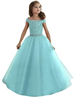 Sea Green Pageant Dresses