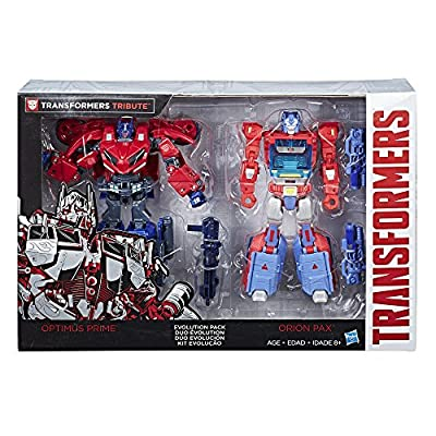 Transformers Deluxe Class Optimus Prime Autobot Legacy 2-Pack ( Exclusive): Toys & Games