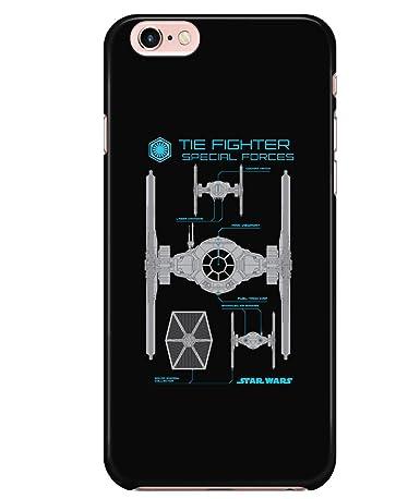 Amazon.com: Carcasa para iPhone 6/6S, diseño de las fuerzas ...
