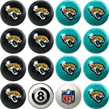 Jacksonville Jaguars NFL Home vs. Away Billiard Balls Full Set (16 Ball Set) by Imperial International