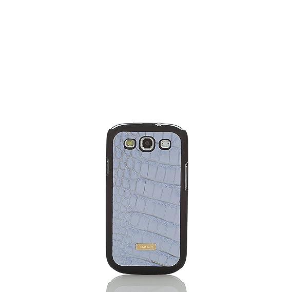 promo code 2a2f8 b3a0a Amazon.com: Brahmin Galaxy 3 Case Chambray Melbourne Genuine Leather ...