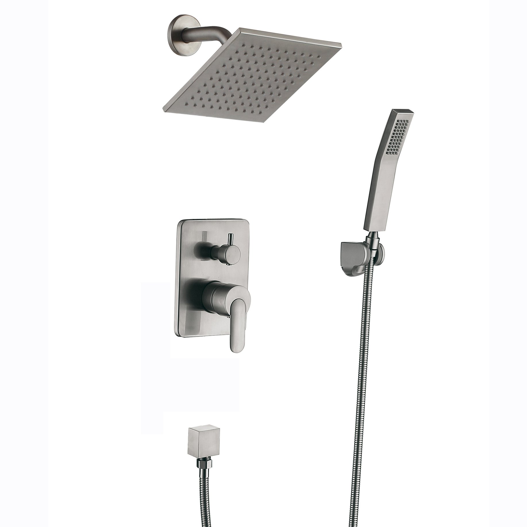 brushed shop com pin faucet bathtub with oxby at faucets rain shower showerhead resist and moen handle lowes nickel spot