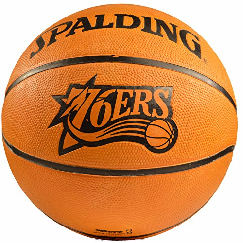Spading NBA Philadelphia 76ers Rubber Game Basketball