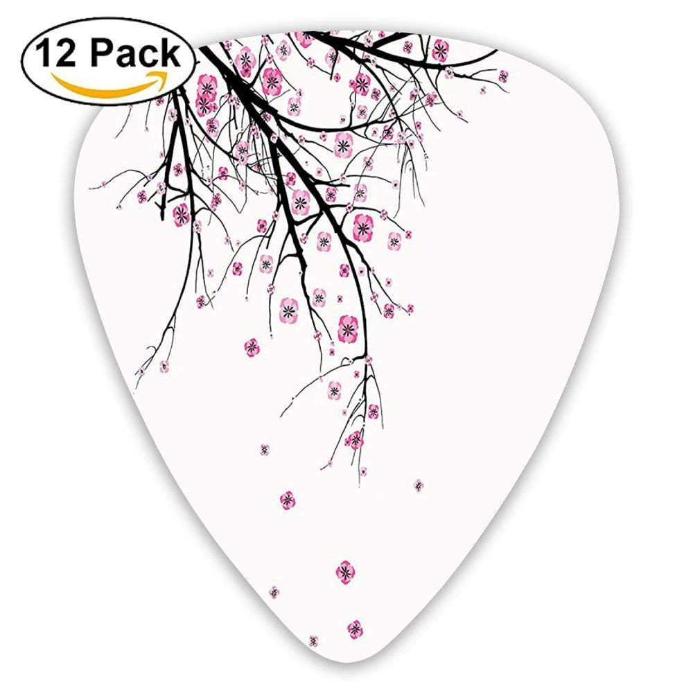 Cherry Blossoming Falling Petals Flowers Springtime Park Simple ...