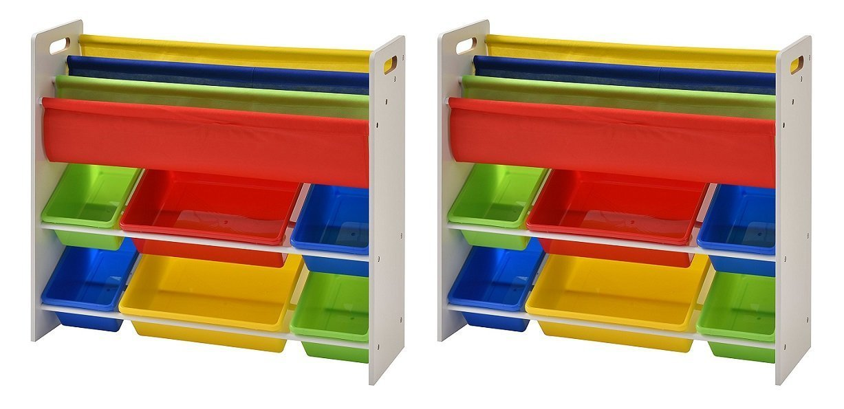 Muscle Rack KTO341031-BC Book and Toy Organizer (Pack of 2)