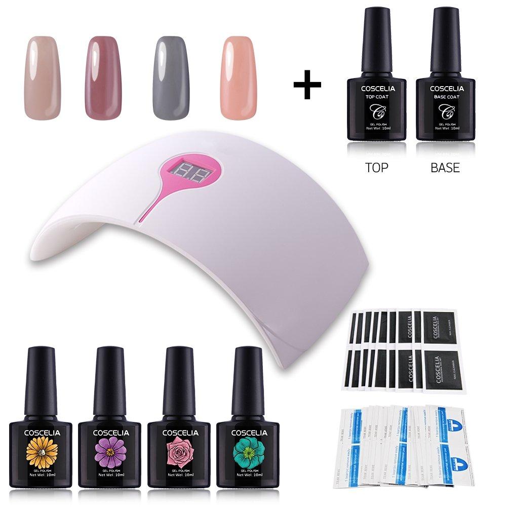 Coscelia Gellack UV Gel Farben Set LED Lampe Nageldesign Nail Art ...