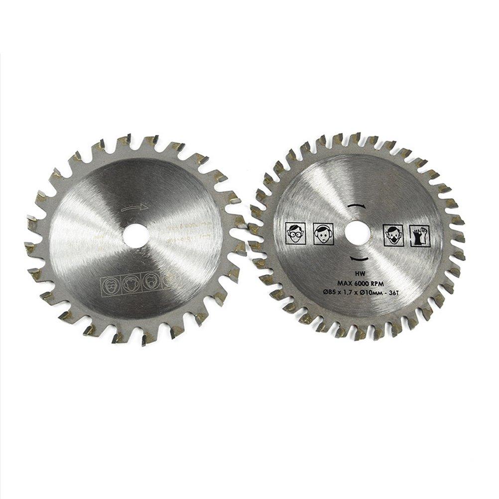 avec fente outil rotatif Ukcoco Lot de 5 lames de scie circulaire 85/mm Disque /à coupe Crois/ée
