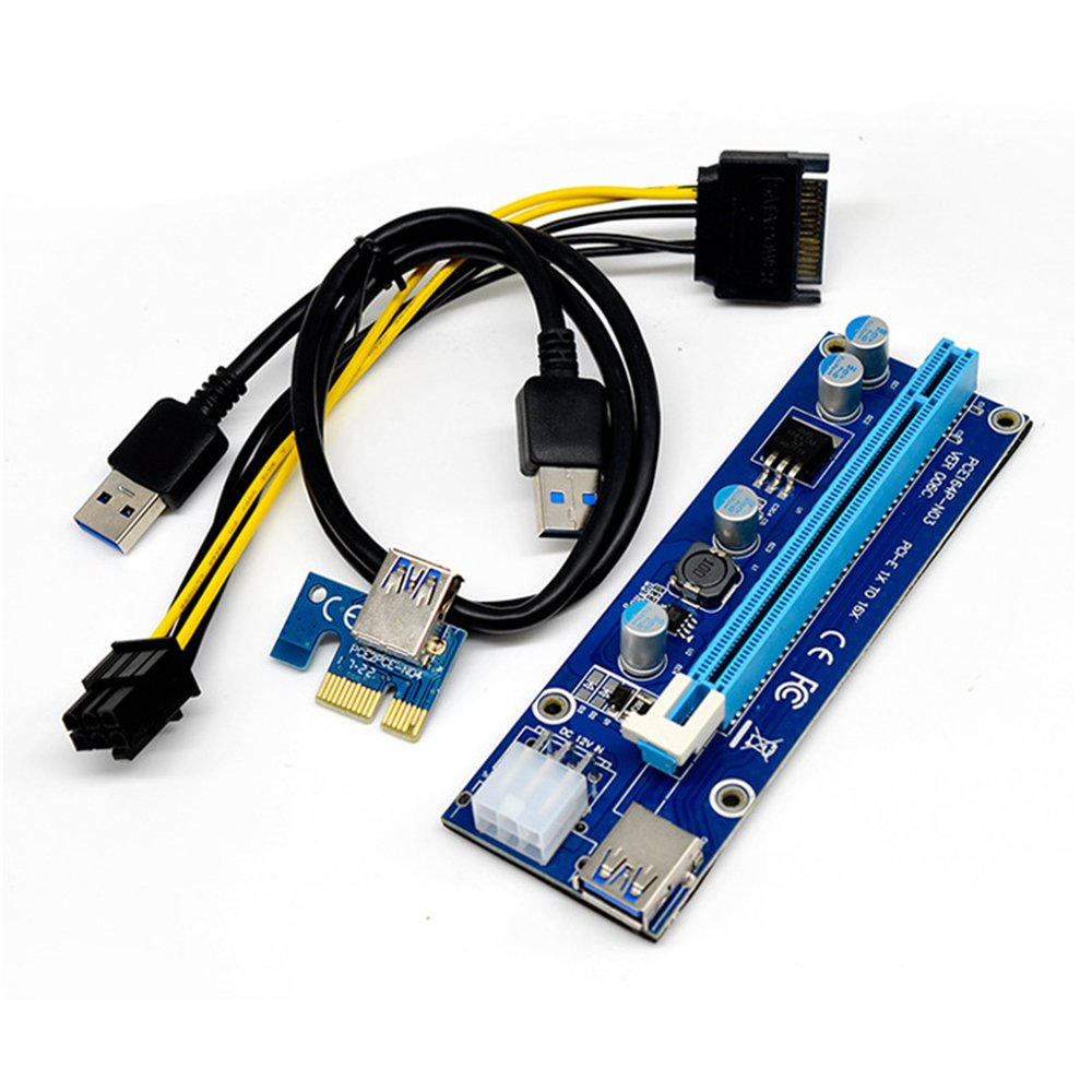 ponatia PCI-E 1 X a 16 X Tarjeta Elevadora Cable extensor ...