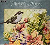 Lang Vintage Designs 2016 Wall Calendar by Kimberly Poloson, January 2016 to December 2016, 13.375 x 24 Inches (1001883)