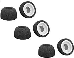 LICHIFIT Sponge Silicone Air Foam Replacement Ear Tips Buds for Apple Airpods Pro Headphones