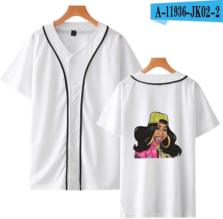 Amazon.com: Cardi B Camiseta de algodón Merch Rap Camisetas ...