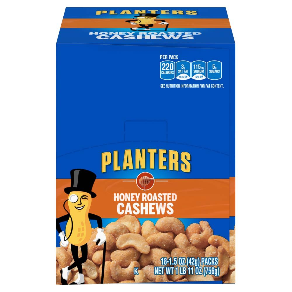 Planters Almonds, Smoked & Salted, 1.5 Ounce Single Serve Bag (Pack on planters crackers, planters pecans, planters sunflower kernels, planters guy, planters logo, planters nutmobile, planters nut bar, planters almonds, planters holiday pack, planters brittle nut medley, planters honey roasted, planters walnuts, planters nut man, planters cashews, planters holiday collection, planters peanutbutter, planters mixed nuts, planters potato chips, planters sunflower seeds, planters candy,