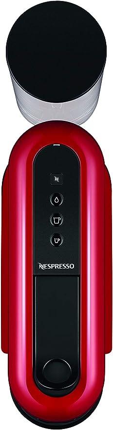 DeLonghi EN200.R Machine /à caf/é avec syst/ème /à capsules Nespresso Plastique Rouge
