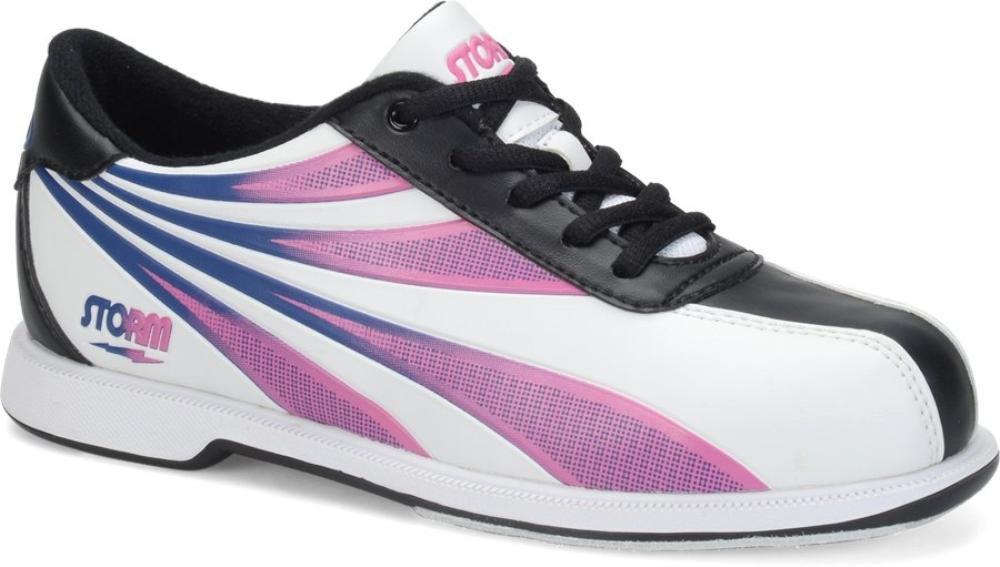 Storm Womens Skye Bowling Shoes - White/Black/Multi Storm Bowling Shoes