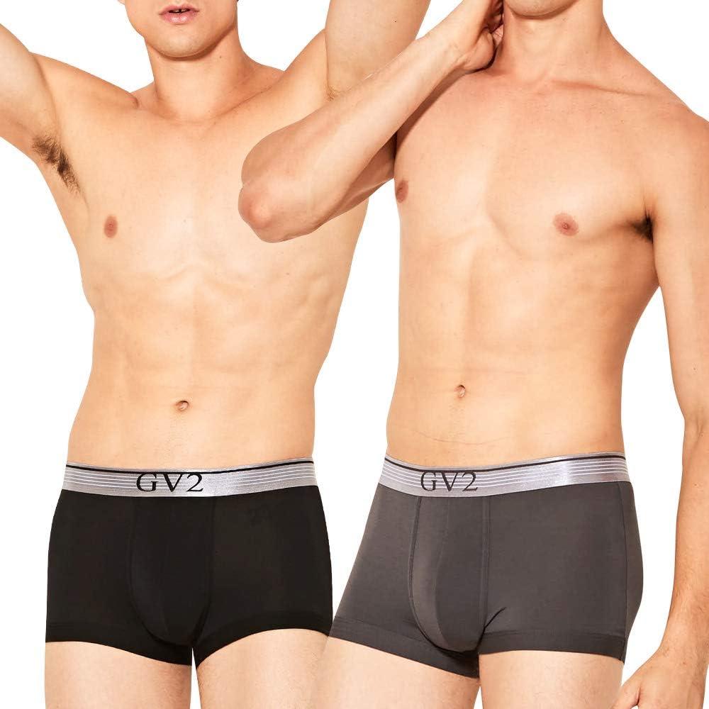5 Pack Feelvery Mens Ultra-Soft Premium Modal /& Tencel Comfort Flex Fit Stretch Boxer Briefs Underwear
