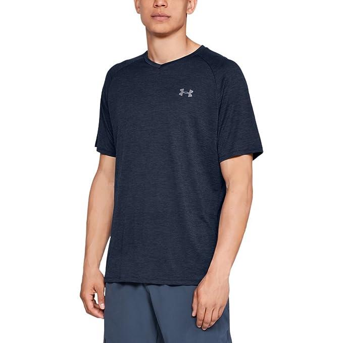 e2d60b0842 Under Armour Men's Tech 2.0 V-Neck Short Sleeve T-Shirt