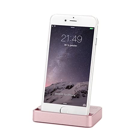 timeless design c81e2 c1d63 doupi Docking Station for iPhone 5 5C 5S SE, 6 / 6S Plus, 7/7 Plus, 8/8  Plus, X/Xs/Xs Max/Xr, iPhone SE 5S 5 5C with lightning connector Dock  Charger ...