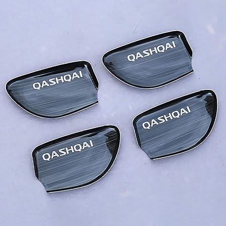 Per NISSAN QASHQAI ANNO 2007-2014 CROMO maniglia porta tappi pannelli ciechi in acciaio inox 4-tür 8 pezzi