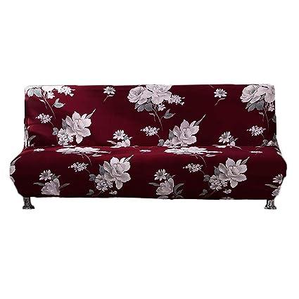 Sofá de 3 plazas impermeable Sofá de protector muebles coberturas sobre DOS Sofá Clic clac 3 plazas, Funda para cojín elástica de de impresión Floral ...