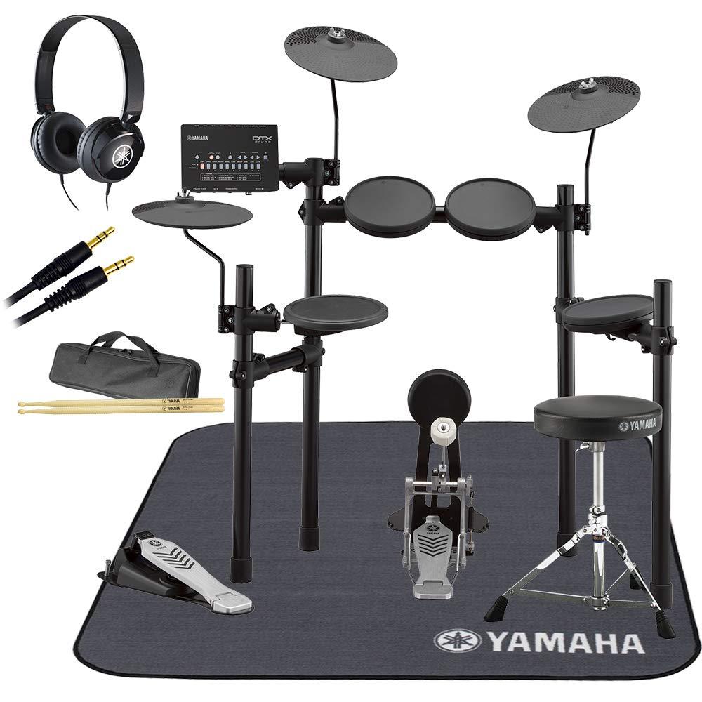 YAMAHA DTX452KS ヤマハ純正マット/ヘッドホン付き8点セット 電子ドラムセット ヤマハ   B07FVJNC5P