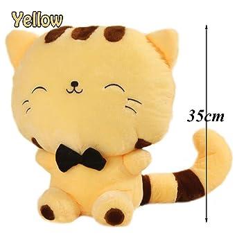 Amazon Com Pocktyle 35cm Soft Kitty Tail Kids Gift Smile Fortune