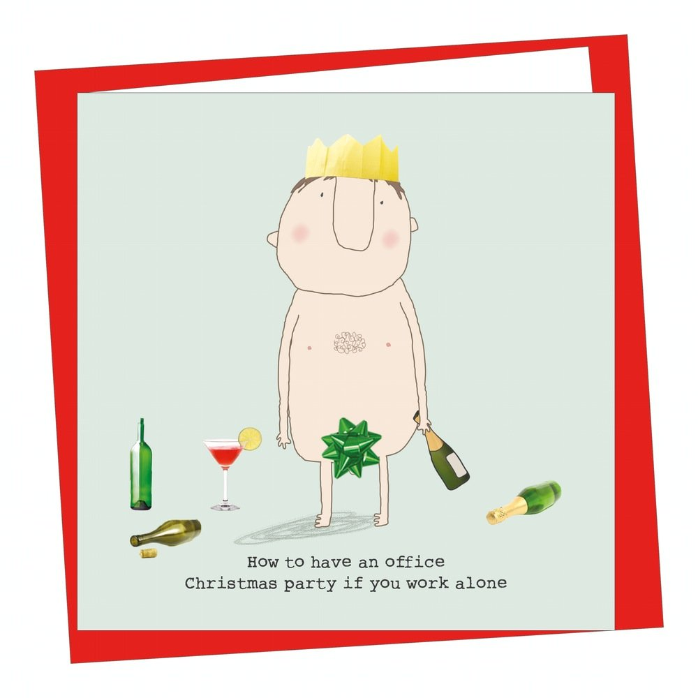 Fun Christmas Card - How to have an office christmas party if you ...