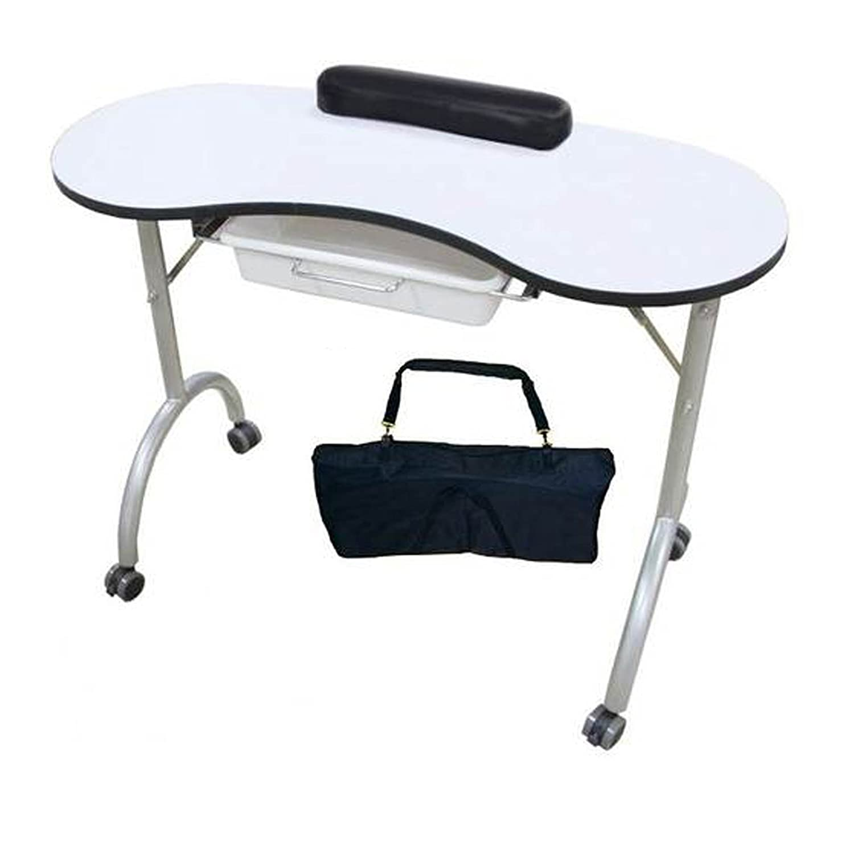 Brand new portable nail technicicans manicure table desk & Carry Bag ...