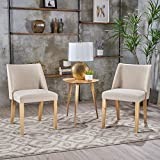 Christopher Knight Home 300893 Regina Wheat Fabric Side Chairs (Set of 2) Review