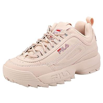 2e22e3b2 Amazon.com | Fila Disruptor Low Womens Fashion Trainers in Rose - 5 ...