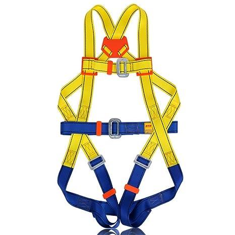 Escalada arnés. cinturones de seguridad seguro para montañismo ...