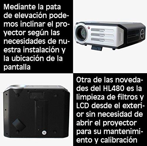 proyector de alta definicion HL480 FULL HD soportado, compatible ...