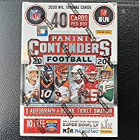 $53 » 2020 Panini Contenders Football BLASTER box (40 cards/box)