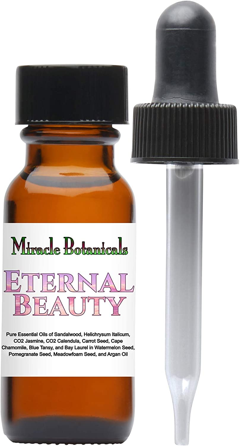Miracle Botanicals Eternal Beauty Skin Serum *Made with The Finest Ingredients for Glowing, Youthful, Blemish Free Skin* - Therapeutic Grade - 15ml