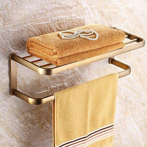 HQLCX Antique Towel Bar, All Copper European Style Towel Bar by HQLCX-Towel Bar