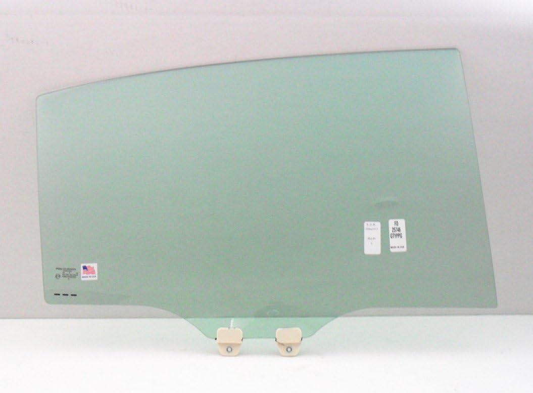 Fit 2013-2017 Honda Accord Sedan Passenger Side Right Rear Vent Glass Window