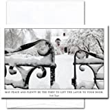 Peace and Plenty: New Year Holiday Cards - box of 10 cards & envelopes