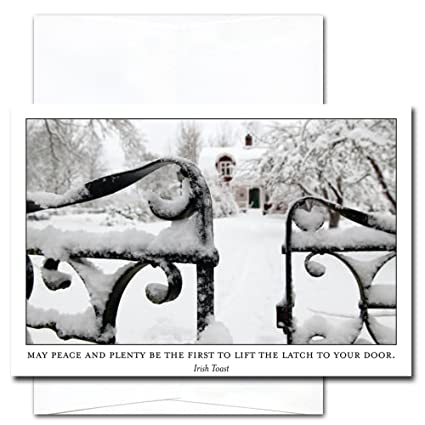 new year cards peace plenty 10 cards env professional or personal use made