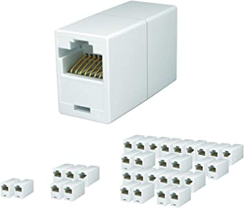 RJ45 Cat6 Straight Network Cable Joiner Coupler Connector Plug Extender