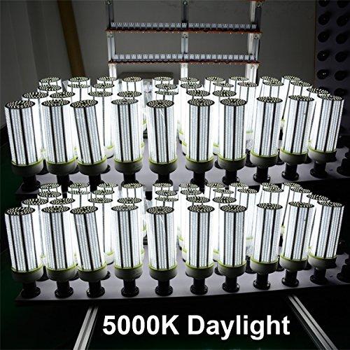 JESLED 150W LED Corn Light Bulb, Large Mogul E39 Base, 20250 Lumens, 5000K Daylight, Replacement for 1000W Equivalent Metal Halide Bulb, HID, CFL, HPS by JESLED (Image #7)