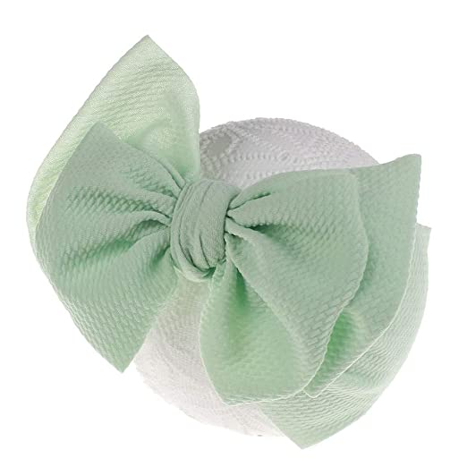 Tensay Girls Baby Toddler Turban Solid Hair Band Bowknot Accessories Headwear Headband