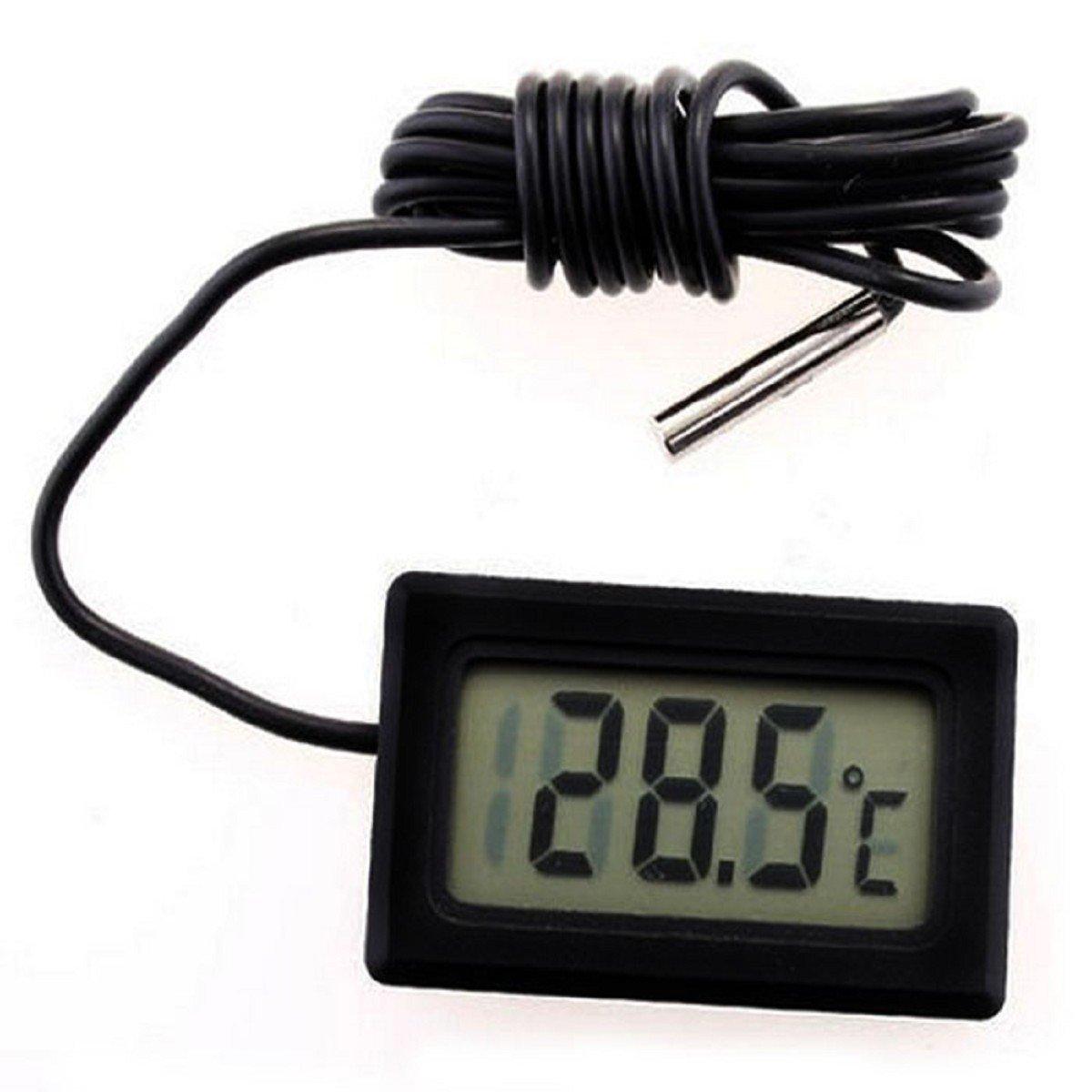 Tongshi Sensor Termómetro Digital LCD Nuevo Mini Temperatura Termómetro Frigorífico Congelador
