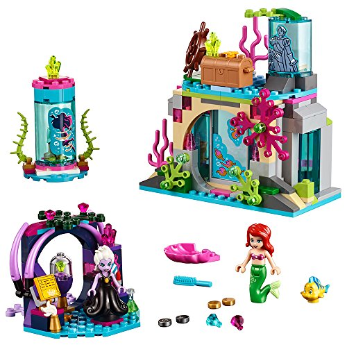 Disney Princess Spring (LEGO Disney Princess Ariel and The Magical Spell 41145 Building Kit (222 Piece))