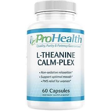 Amazon.com: L-Teanina Calm-Plex con GABA y 5-HTP ...