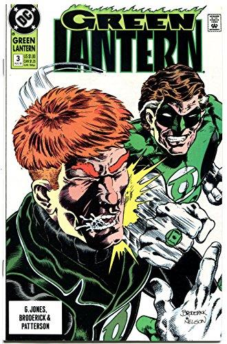GREEN LANTERN #3, Guy Gardner vs Hal Jordan, 1990, NM, more GL in store