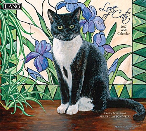 2017 Love Of Cats Wall Calendar