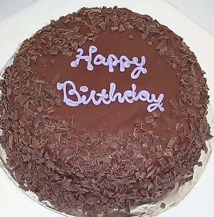 Surprising Chocolate Cherry Vanilla Lovers Cake Topped With Dark Chocolate Funny Birthday Cards Online Necthendildamsfinfo