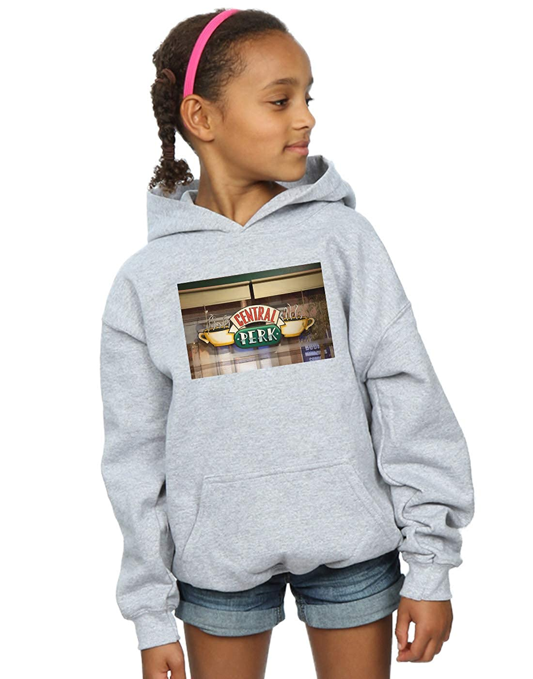 Absolute Cult Friends Girls Central Perk Photo Hoodie