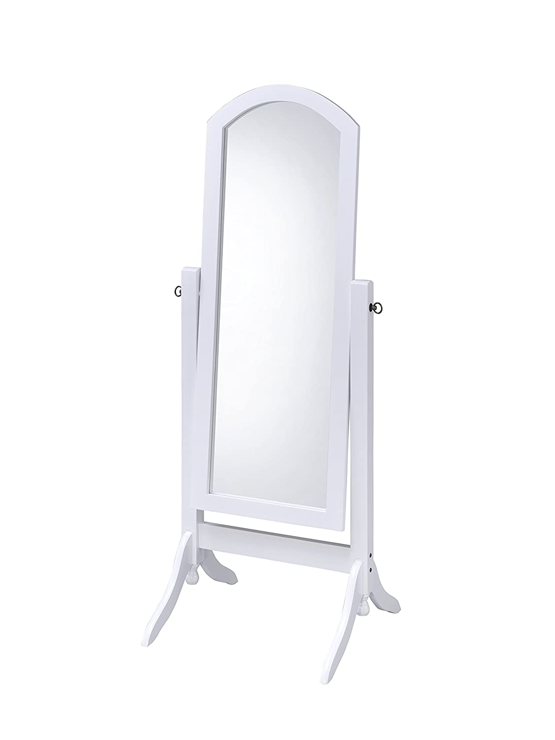 Proman Products CV17002 Barrington Cheval Mirror, White