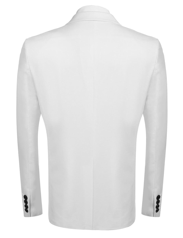 Jinidu Mens 2 Piece Slim Fit Dress Suit One Button Tuxedo Blazer Jacket /& Pants Set for Wedding Dinner Party
